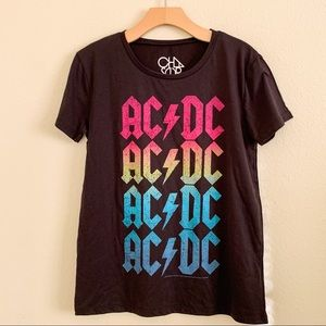 CHASER AC/DC Graphic Band Tee